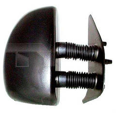 Правое зеркало Пежо Боксер -06 электрический привод; с обогревом; текстура; выпуклое; long arm 99- / PEUGEOT BOXER (1994-2002)