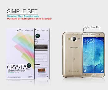 Защитная пленка Nillkin Crystal для Samsung J700H Galaxy J7 / J701 Galaxy J7 Neo