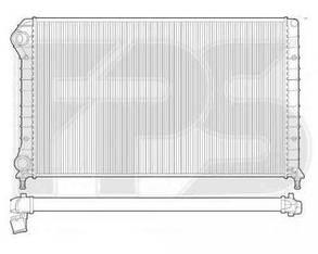 Радиатор Фиат Добло 01-09 / FIAT DOBLO (2001-2004)