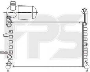Радиатор Фиат Типо 87-95 / FIAT TIPO (1987-1995)
