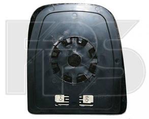 Левый вкладыш зеркала Ивеко Дейли -11 с обогревом выпуклый верхний / IVECO DAILY (2006-2011)