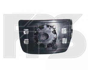 Правый вкладыш зеркала Ивеко Дейли -11 с обогревом выпуклый нижний / IVECO DAILY (2006-2011)