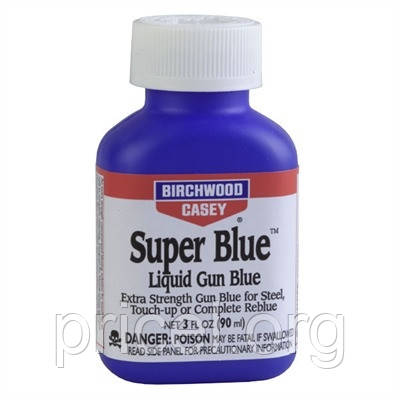 Средство для воронения металла Birchwood Casey Super Blue 3 oz / 90 ml (13425)