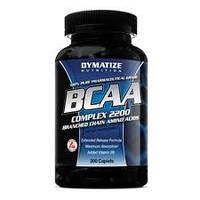 Аминокислотный комплекс Dymatize Nutrition BCAA complex 2200 400 капсул