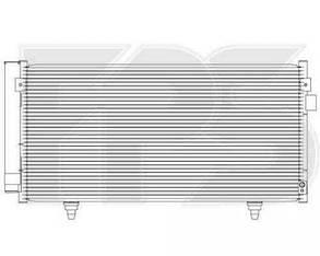 Радиатор кондиционера Субару Импреза (2007-2011) / SUBARU IMPREZA (2007-2011)