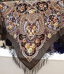 Час чудес 1882-2, павлопосадский вовняну хустку з шовковою бахромою, фото 9