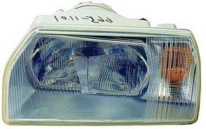 Левая фара Шкода Фаворит -95 h4 / SKODA FAVORIT (1988-1995)