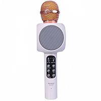 Беспроводной микрофон для караоке WSTER WS-1816 Белый, КОД: 972575