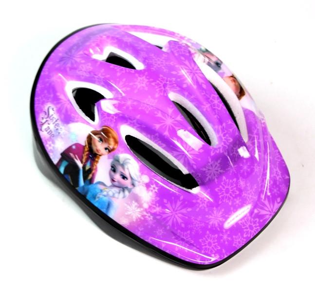Шлем фиолетовый.Frozen.
