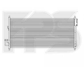 Радиатор кондиционера Ниссан Тиана J31 03-08 / NISSAN TEANA J31 (2003-2008)