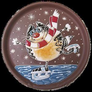 Тарелка потата «Кот на льду»