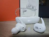 Беспроводные Bluetooth наушники, гарнитура JBL TWS 4 Белые