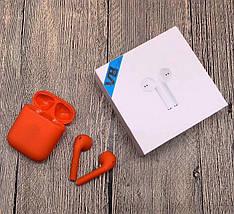 Беспроводные Bluetooth наушники V8 TWS Bluetooth 5.0 Красные, фото 3