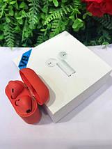 Беспроводные Bluetooth наушники V8 TWS Bluetooth 5.0 Красные, фото 2