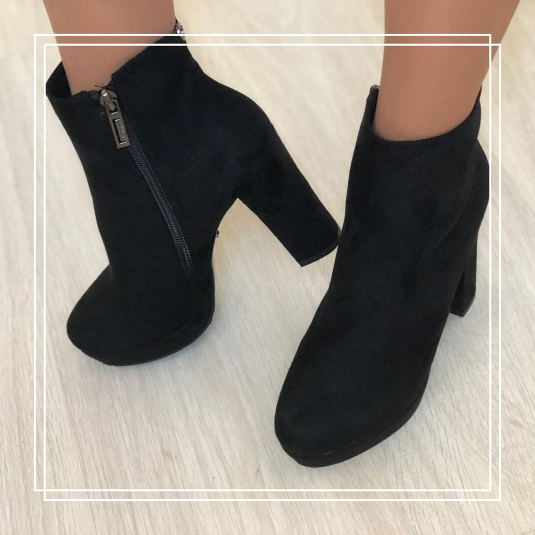 Женские ботинки  замша LB 236-6