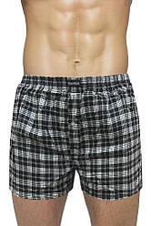 Мужские шорты (семейные c ширинка на пуговице пол батал 3,4) Марка «CASTOM» арт.D-3201