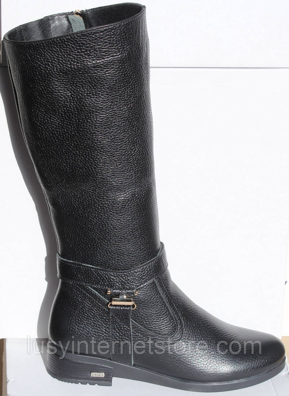 Сапоги женские кожаные зимние от производителя модель НИК1014