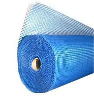 Сітка штукатурна 145г/м2 синя, 50м