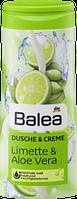 Крем -гель для душа Balea Dusche & Creme Limette & Aloe Vera - С Алоэ вера