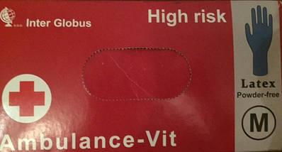 Перчатки резиновые Ambulance-VIT, фото 2