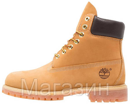 Женские зимние ботинки Timberland 6 Winter Boots Yellow зимние Тимберленд С МЕХОМ желтые, фото 2
