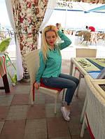 Женская стильная рубашка АШ133, фото 1