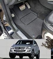 Коврики на Mercedes ML-Class W164 '05-11. Текстильные автоковрики