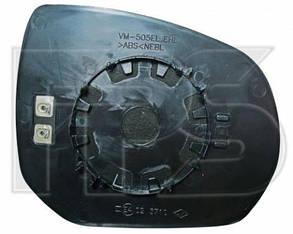 Правый вкладыш зеркала Пежо 3008 09- с обогревом выпуклый c3 picasso 09- / PEUGEOT 3008 (2009-)
