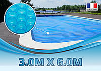 Солярная пленка для бассейна 3,00 м. х 6,00 м.
