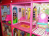 ✅Ляльковий будиночок 6983 з меблями, 2 поверхи та 6 кімнат, 108*93*37 см, фото 6