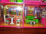 ✅Ляльковий будиночок 6983 з меблями, 2 поверхи та 6 кімнат, 108*93*37 см, фото 7