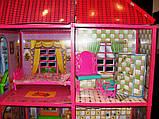 ✅Ляльковий будиночок 6983 з меблями, 2 поверхи та 6 кімнат, 108*93*37 см, фото 8