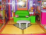 ✅Ляльковий будиночок 6983 з меблями, 2 поверхи та 6 кімнат, 108*93*37 см, фото 9