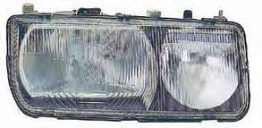 Правая фара Форд Сиерра -87 (2 лампы) ghia / FORD SIERRA (1982-1987)