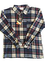 Рубашки мужские флис в клетку теплые р-р от 52 по 60. От 5шт по 105грн.