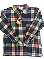 Рубашки мужские на молнии флис в клетку теплые р.52,54,56,58,60. От 5шт. по 109 грн