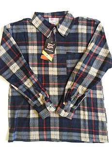 Рубашки мужские на молнии флис в клетку теплые р.52,54,56,58,60. От 5шт по 105грн.