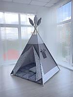 Детская игровая палатка (вигвам) «Большая медведица»с ковриком и подушечкой