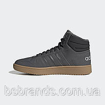 Мужские зимние кроссовки Adidas Neo Hoops 2.0 Mid (Артикул: EE7373), фото 2