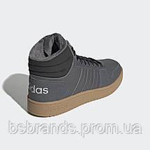 Мужские зимние кроссовки Adidas Neo Hoops 2.0 Mid (Артикул: EE7373), фото 3