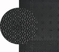 Полиуретан листовой набоечный GTO Italia 95 Shore A, размер 180*200*6мм, цв. черный