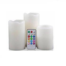 Набор светодиодных свечей LED Luma Candles 12 цветов хамелеон 648661659A, КОД: 146482