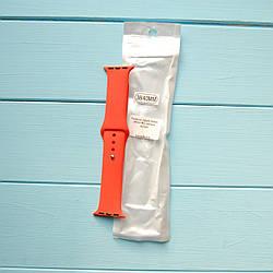 Ремешок Apple Watch 38mm M/L silicone Apricot