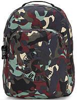 Рюкзак городской Kipling Seoul Packable складной на 22,5 л, камуфляжный