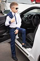 Стильный детский костюм: пиджак+брюки, фото 2