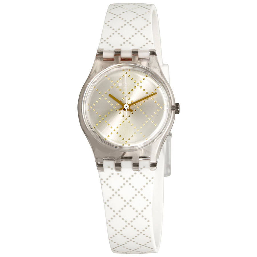 Жіночий годинник Swatch LK365 White