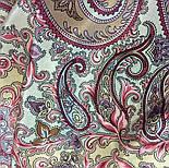 Рассказ о странствиях 1633-50, павлопосадский шарф шелковый крепдешиновый с шелковой бахромой, фото 3
