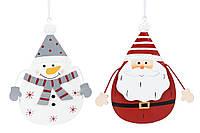 Подвесной новогодний декор, 14,5см, 2 вида