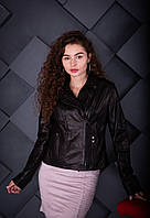 Куртка кожаная Oscar Fur 615 Черный