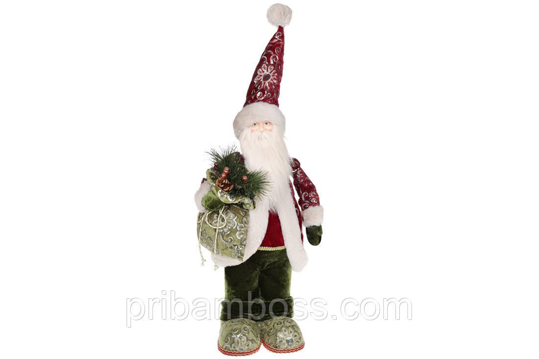 Декоративная фигура под елку Санта, 60см
